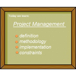 Project Management: Definition, Methodology, Implementation, Constraints