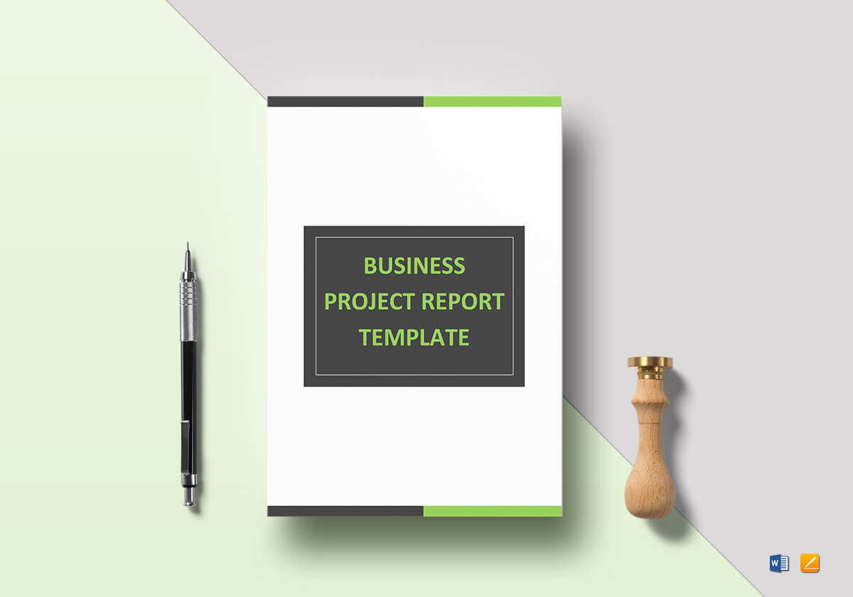 Business Project Report Template at $39