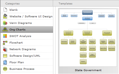 Gliffy.com diagram software