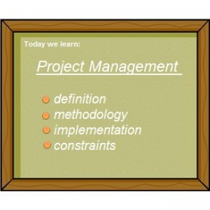 project management definition: what is PM?