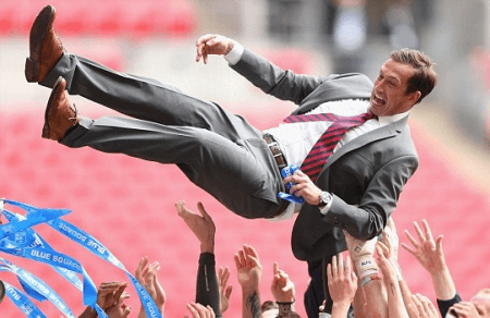 Justin Edinburgh excels as a manager