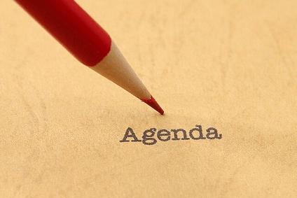 meeting management agenda