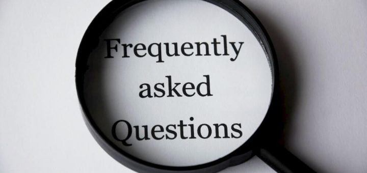 A list of frequently asked questions and their answers about project management